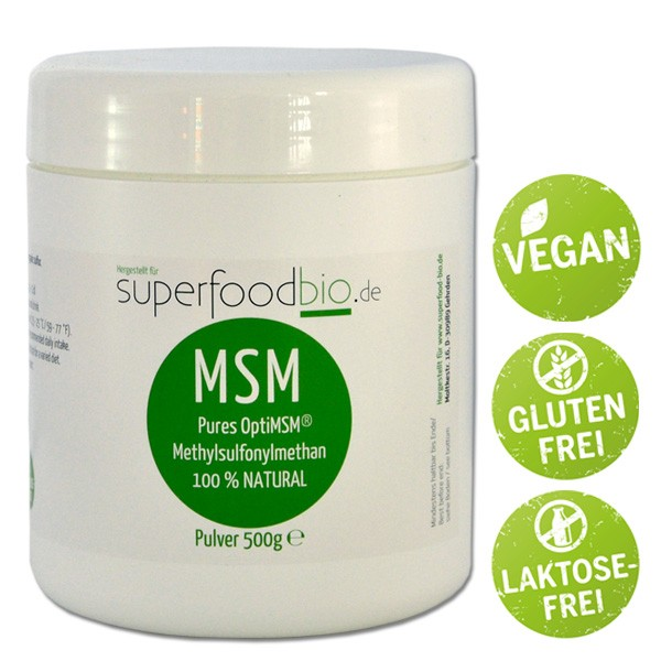 Opti MSM bei Superfood-bio.de